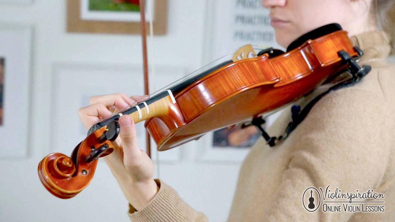 Violin Left Hand Position - Thumb