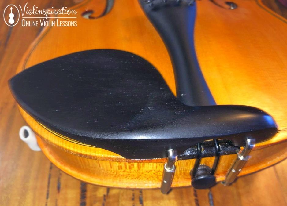 Violin Made Of - Violin Chinrest Tailgut Saddle End Button
