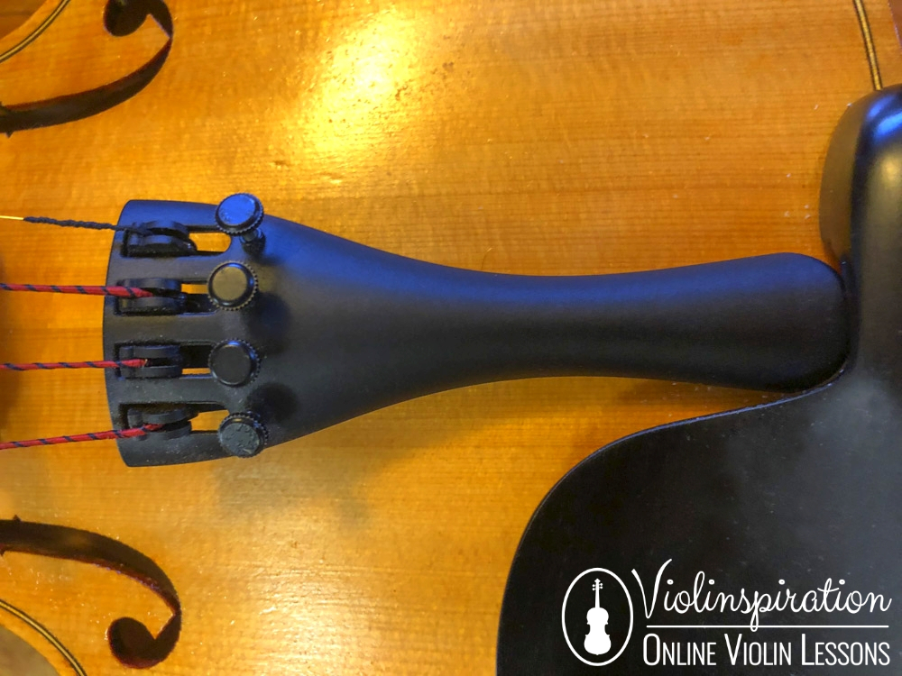 Violin Made Of - Violin Tailpiece