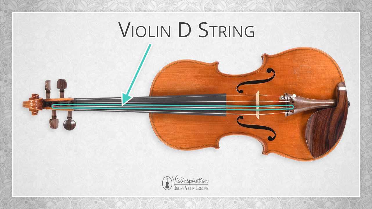Violin Parts - D String
