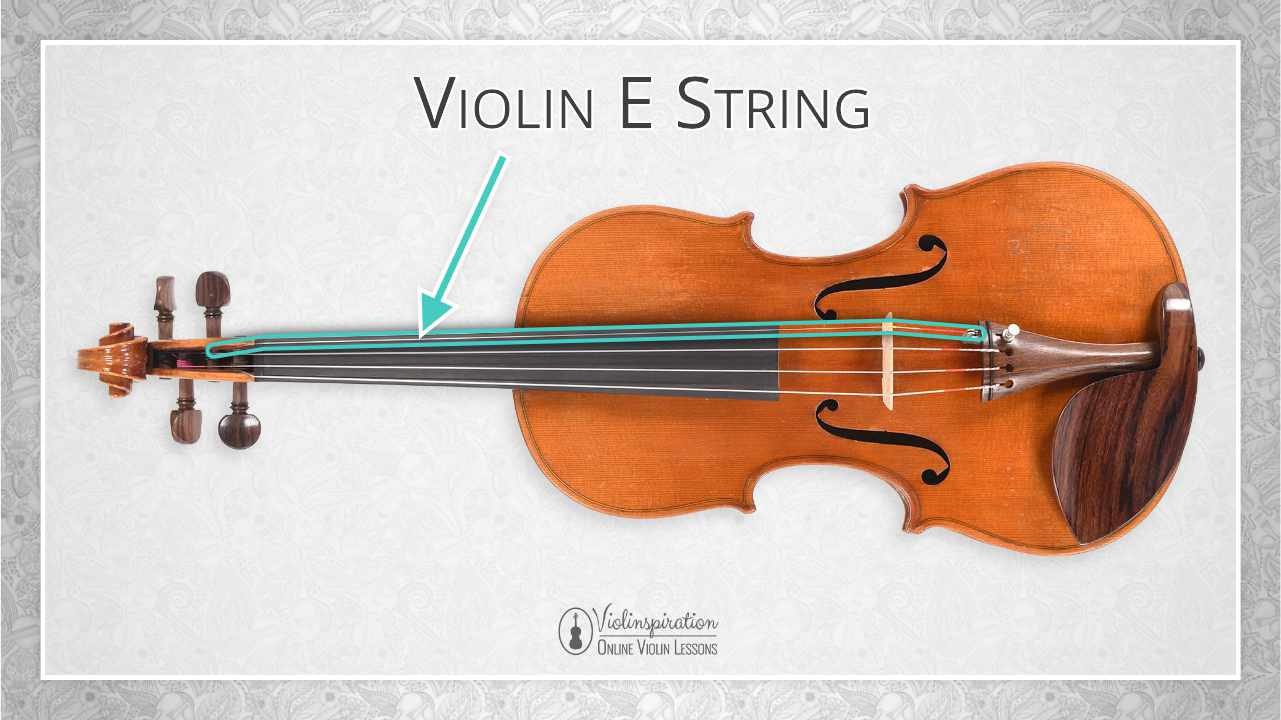 Violin Parts - E String