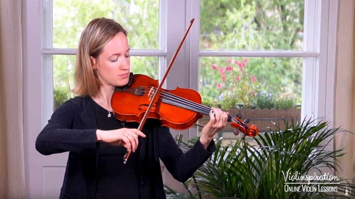 Violin Positions - Correct Higher Position 1