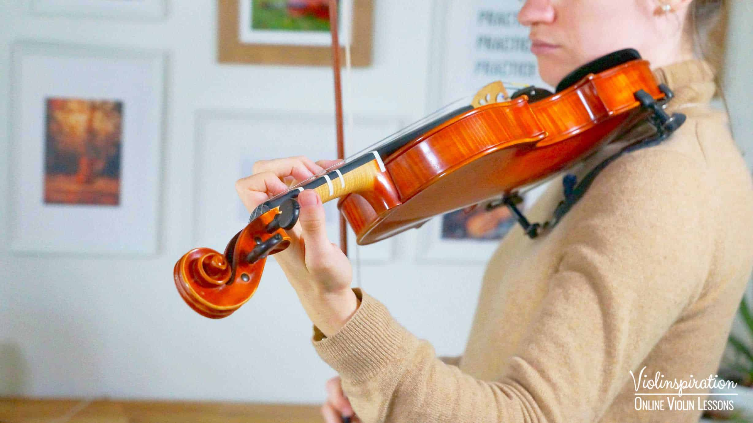 Violin Positions - Correct Higher Position 2