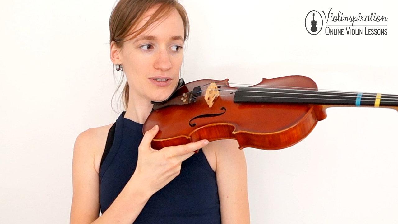 Violin Posture - Shoulder Support