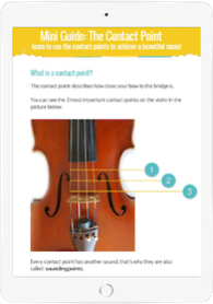 Violin Scratchy Sound - Contact Point Guide
