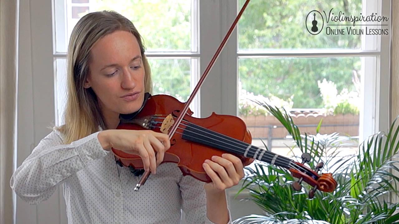 Violin Scratchy Sound - Straight Bow