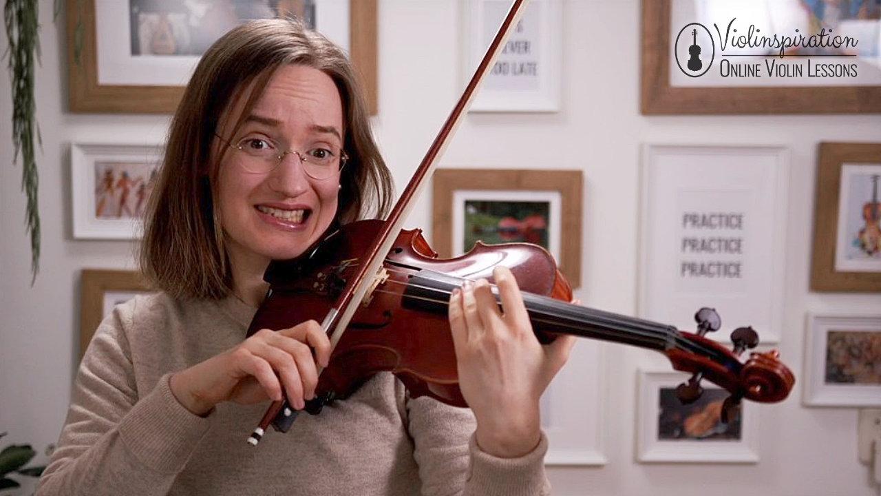 Violin Scratchy Sound