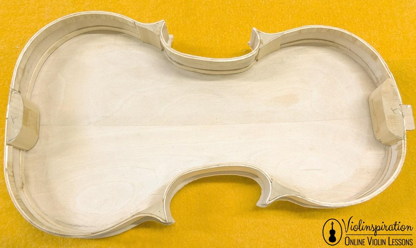 Violin made of - Inner Blocks