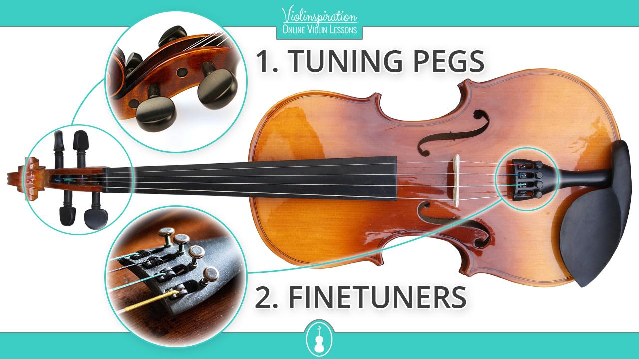 Violin-tuning-parts