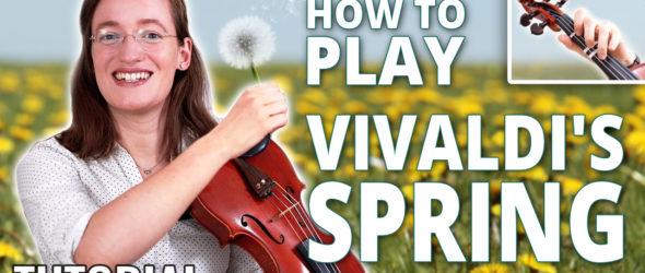 Vivaldi Spring - Violin Lesson