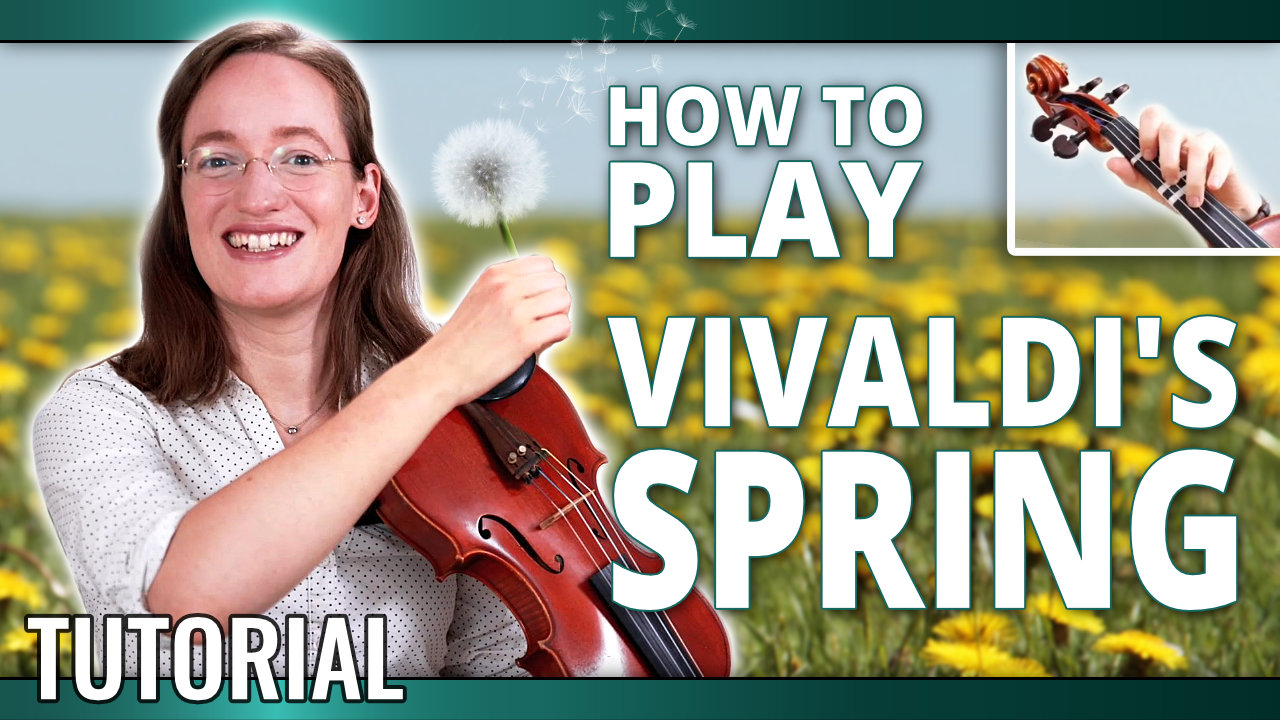Vivaldi Spring – Violin Lesson