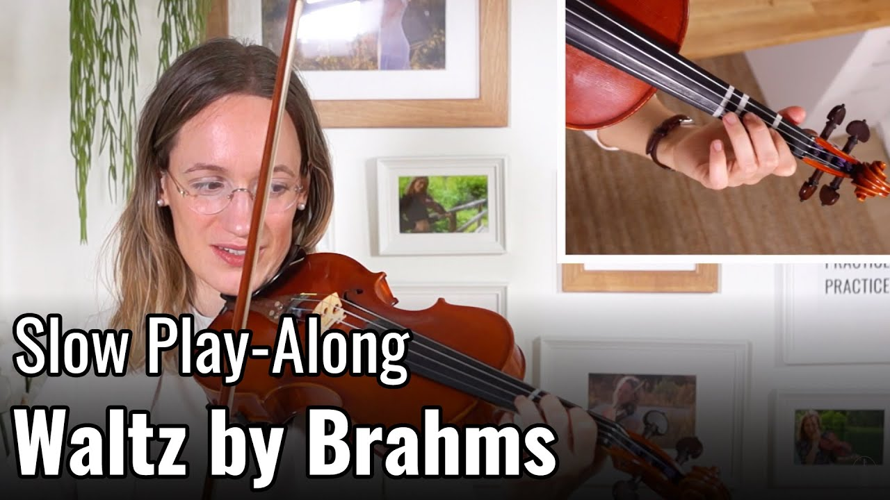 Waltz by J. Brahms – Suzuki Violin Book 2