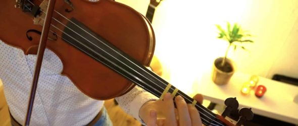 We Wish You A Merry Christmas - Violin Lesson