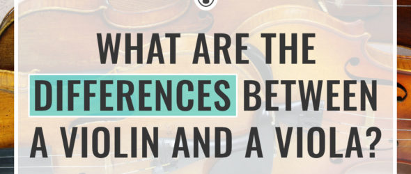 What are the Differences Between a Violin and a Viola