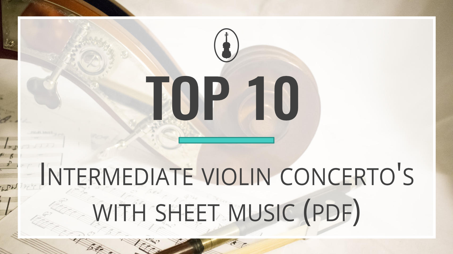 intermediate violin concerto's with sheet music pdf teaching