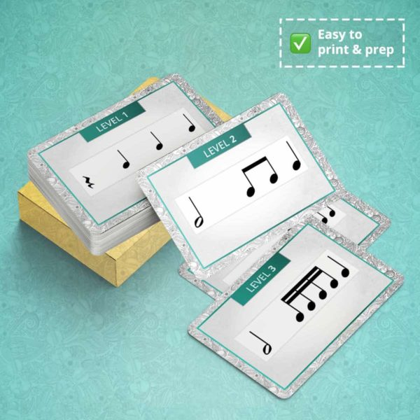 Card Game - Rhythm Cards