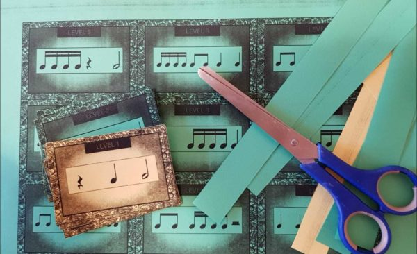 Rhythm Card Game for Violinists Printed (1)