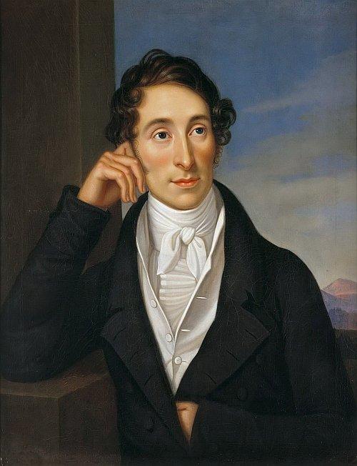 romantic period composers - Carl Maria von Weber by Caroline Bardua