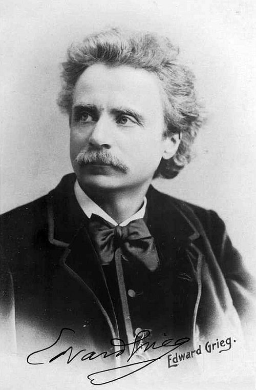 romantic period composers - Edvard Grieg by Elliot and Fry