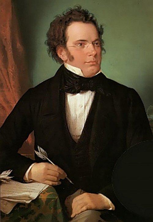 romantic period composers - Franz Schubert by Wilhelm August Rieder