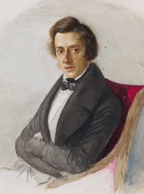 romantic period composers - Frédéric Chopin by Maria Wodzińska
