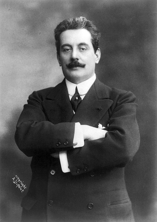 romantic period composers - Giacomo Puccini by A. Dupont