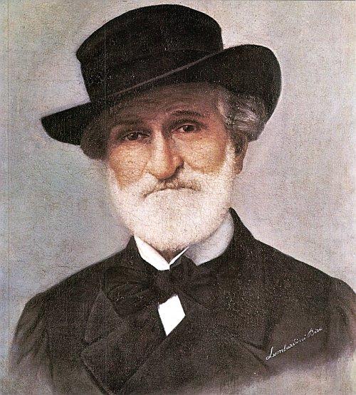 romantic period composers - Giuseppe Verdi by Bice Lombardini