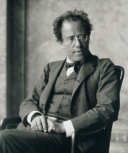 romantic period composers - Gustav Mahler by Moritz Nähr