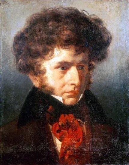 romantic period composers - Hector Berlioz by Émile Signol