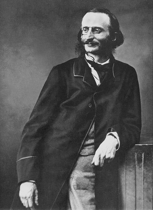 romantic period composers - Jacques Offenbach by Félix Nadar
