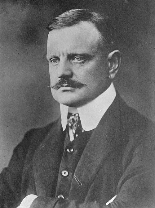 romantic period composers - Jean Sibelius by Daniel Nyblin