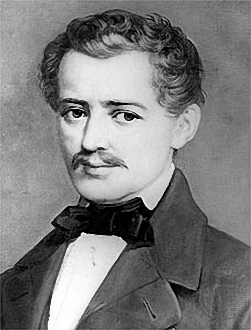 romantic period composers - Johann Strauss I by E. Linde & Co