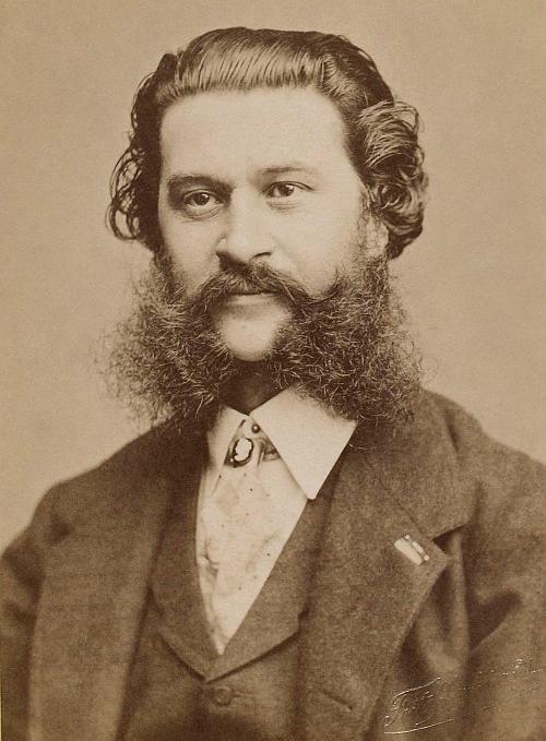 romantic period composers - Johann Strauss II by Fritz Luckhardt