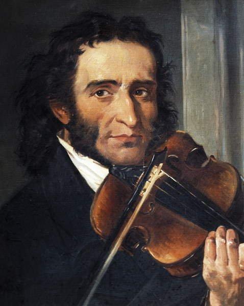 romantic period composers - Niccolò Paganini by Andrea Cefaly