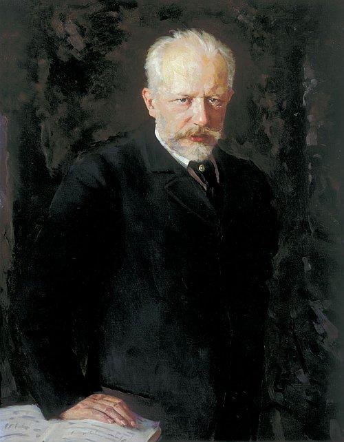 romantic period composers - Pyotr Tchaikovsky by Nikolai Dmitriyevich Kuznetsov
