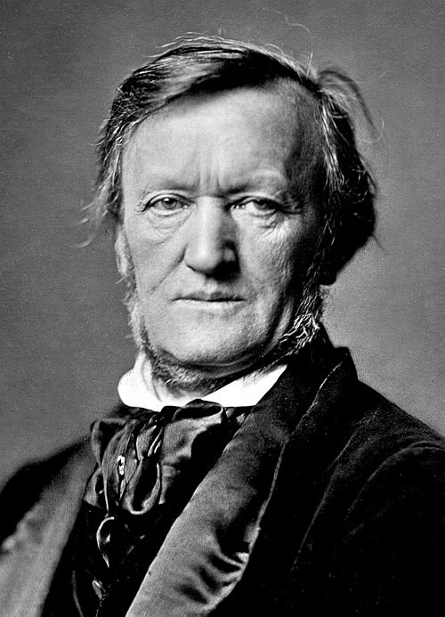 romantic period composers - Richard Wagner by Franz Hanfstaengl