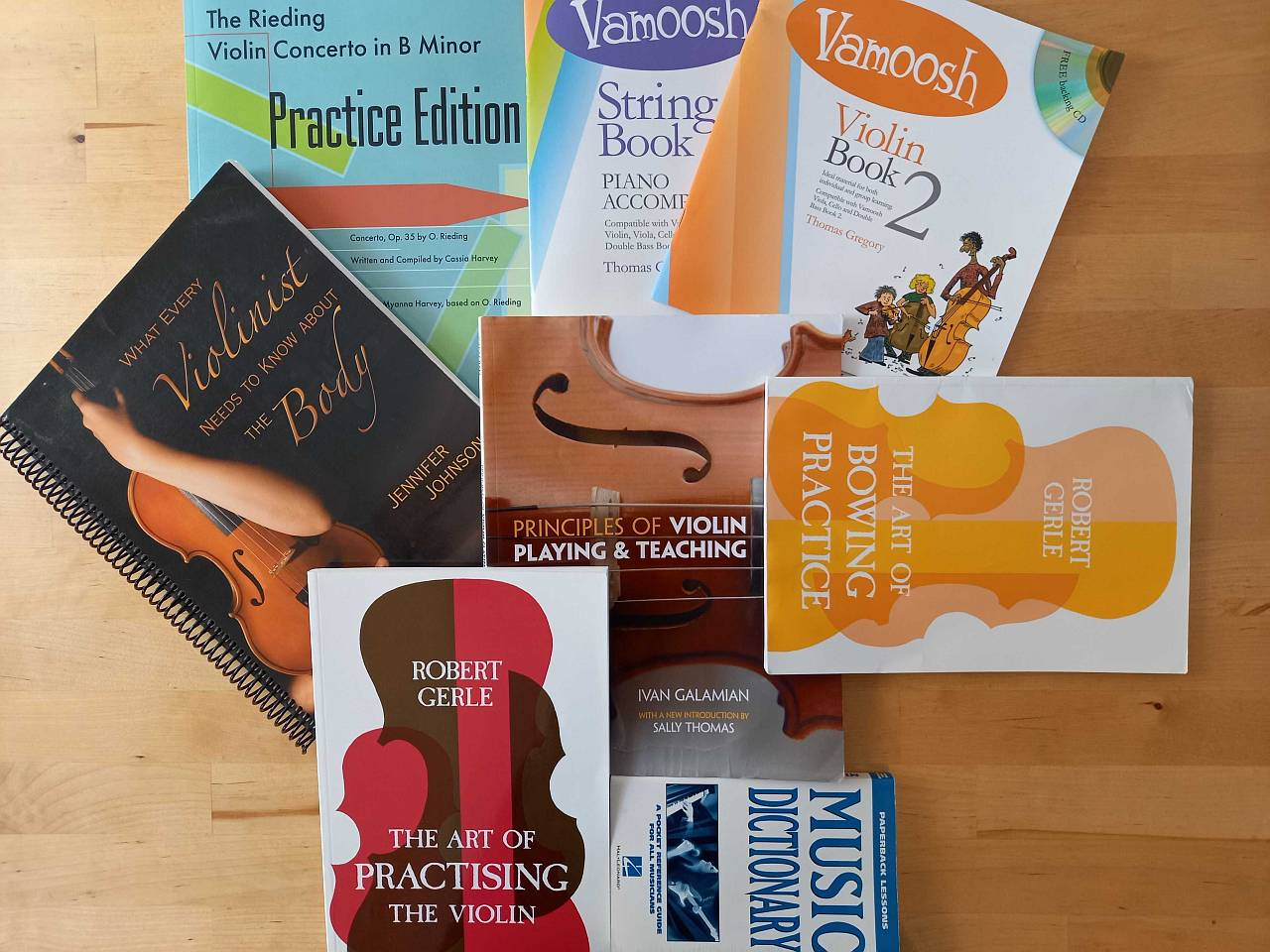 Practicing the Violin - Books