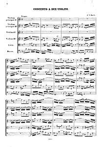 violin duets - Bach - Double Concerto
