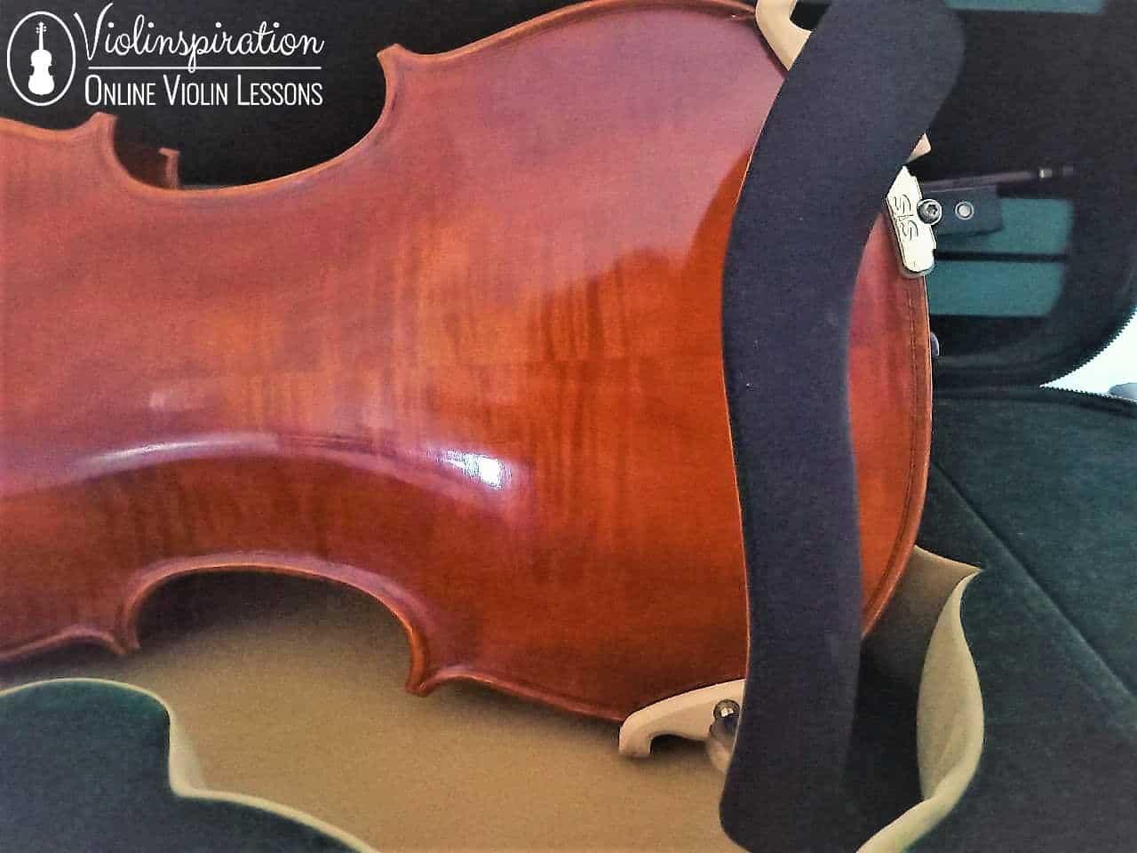 violin shoulder rest narrow